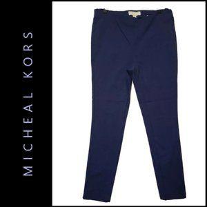 Michael Kors Women Flat Front Pull Up Skinny Pants